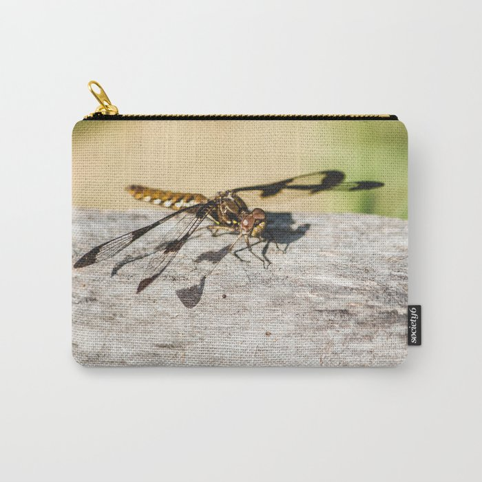 Hello Dragonfly Carry-All Pouch