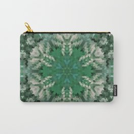 Green mandala  2 Carry-All Pouch