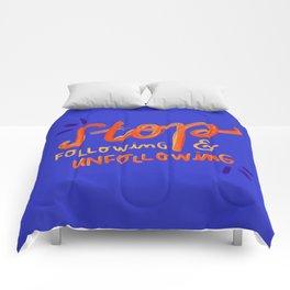 Unfollowing sheep Comforters