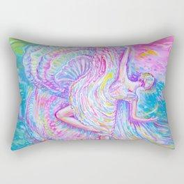Liquid dance Rectangular Pillow