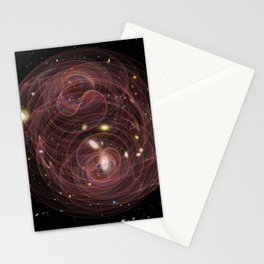 Cosmos, Awareness and Oscillation Stationery Cards
