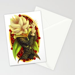 Floral Debonair Stationery Cards