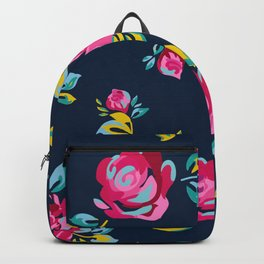 Raspberry Roses Backpack