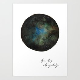 Galaxy Dreams Art Print