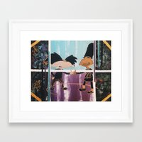 hey arnold Framed Art Prints featuring |HEY! Arnold: Dope Streetz| by Cr38bySunBlaze