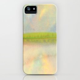 deep relaxation iPhone Case