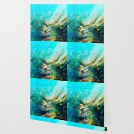 STORMY TEAL AP II Wallpaper