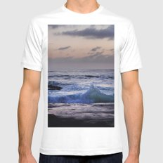 Do the Wave Mens Fitted Tee MEDIUM White