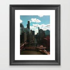 Chicago River View Framed Art Print