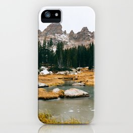 Gore Range – Rocky Mountains iPhone Case