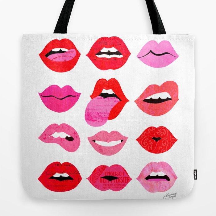 Lips of Love Tote Bag