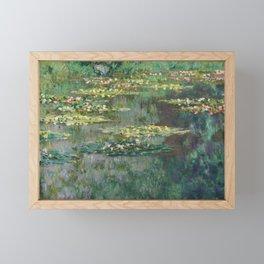 Water Lilies 1904 by Claude Monet Framed Mini Art Print
