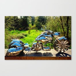 The Bagger~ Right side Canvas Print