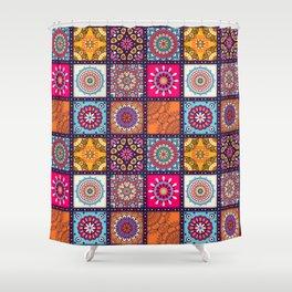 Pattern form Mandala Shower Curtain