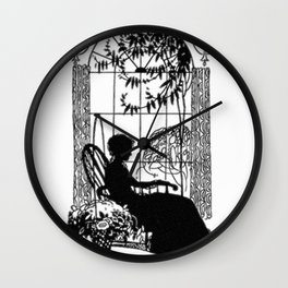 Mother's Day Silhouette Wall Clock