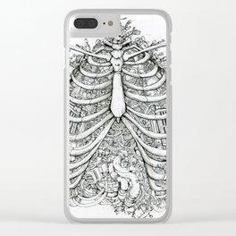Biomechanics Clear iPhone Case