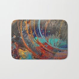 Watching the stars under the sea Bath Mat