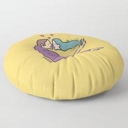 kiss of love Floor Pillow