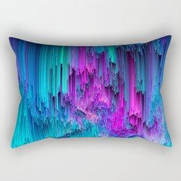 Neon Drifting - Pixel Art Rectangular Pillow