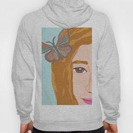 Butterfly Girl Hoody