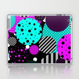 Circles, Bubbles And Stripes Laptop & iPad Skin
