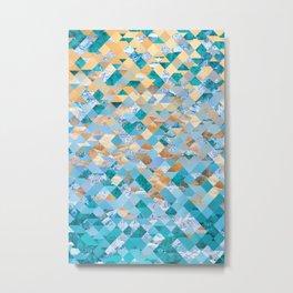 Beach Pattern Metal Print