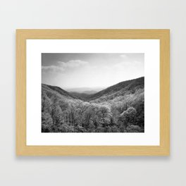 Devil's Garden Framed Art Print