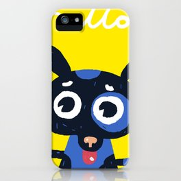 Hello! iPhone Case