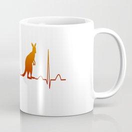 AUSTRALIA IN MY HEARTBEAT Coffee Mug