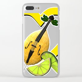 i love limoncello Clear iPhone Case