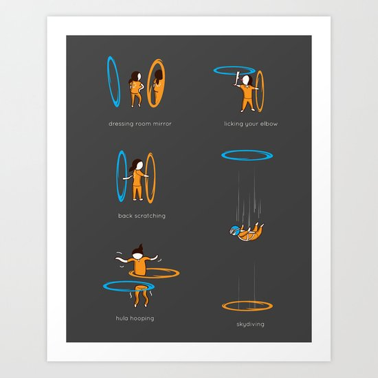 Lesser known uses Art Print