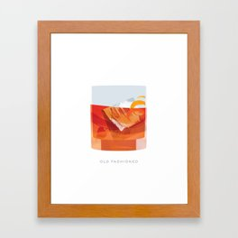 Cocktail Hour: Old Fashioned Framed Art Print