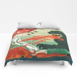 Tokyo or Bust Comforters