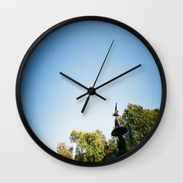 Up Above Wall Clock