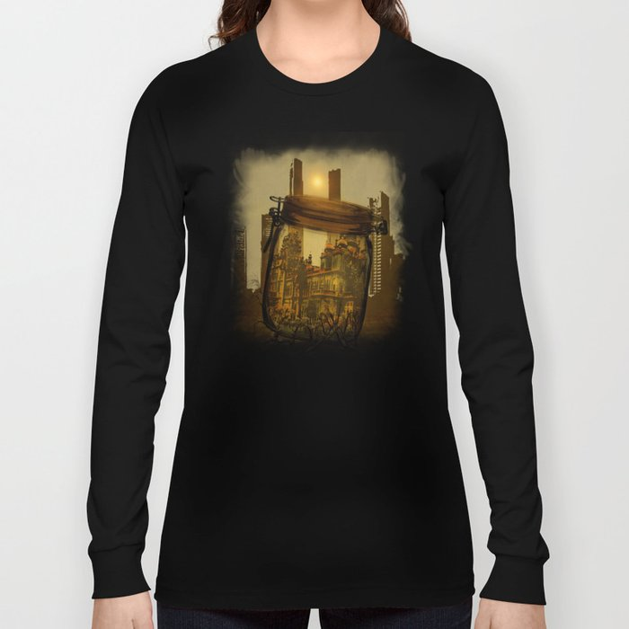 The last vintage city. Long Sleeve T-shirt