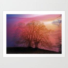 ACrackInTime/ Art Print