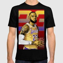 Lebron Illustration  T-shirt