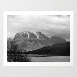 Ben Nevis Scottish Highlands Art Print