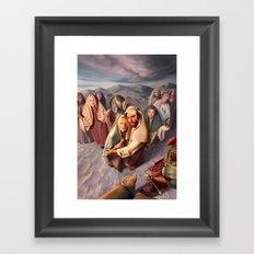 No Greater Love Framed Art Print