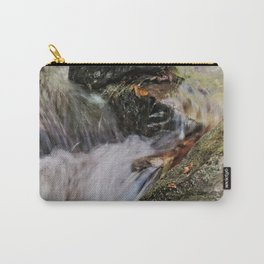 Waterfalls Over Rocks Carry-All Pouch