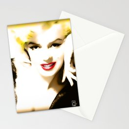 Portrait of  Marilyn Monroe Stationery Cards