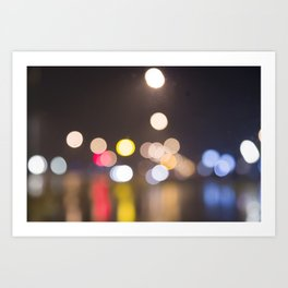 bohek lights Art Print