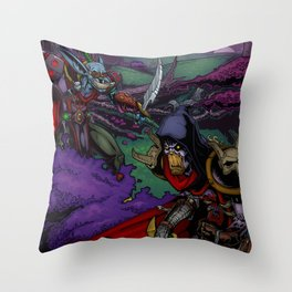 The Ashenvale Hunt Throw Pillow