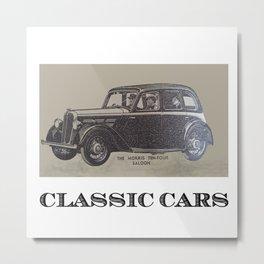 Classic Cars Metal Print