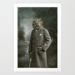 Mr Pat Art Print