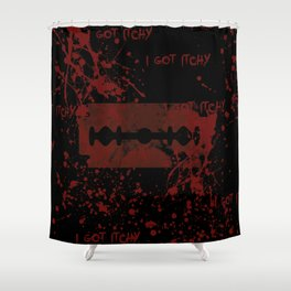 Familiar Itch Shower Curtain