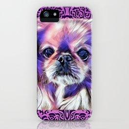 Peak in purple iPhone Case
