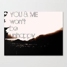 YOU&ME Canvas Print