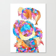Clusters 1 Canvas Print