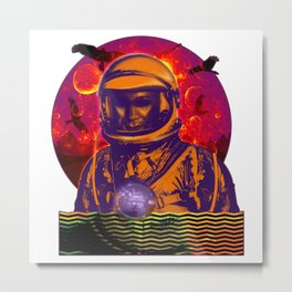 Not of This Earth Metal Print